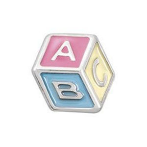 ❤️5 for $15❤️ ABC Baby Block Charm Origami Owl ❤️Boutique for sale